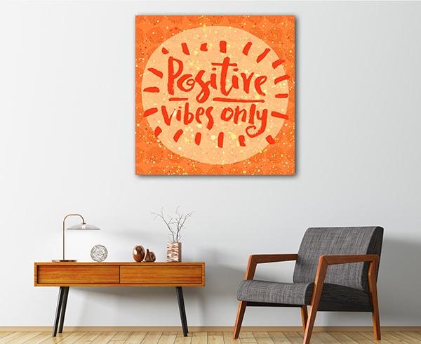 Positive Vibes Artwork