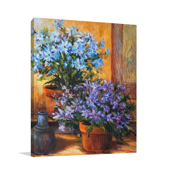 Potted Flowers Wall Art