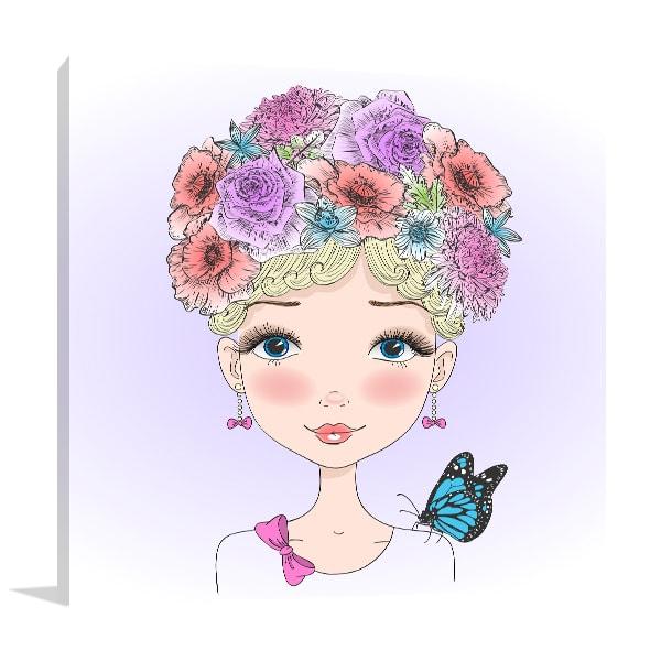 Pretty Fairy Prints Canvas