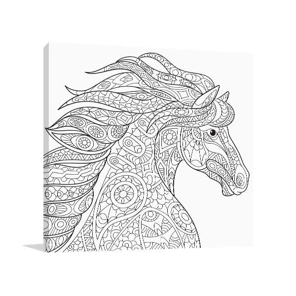 Pretty Horse Artwork