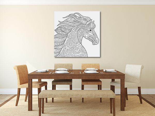 Pretty Horse Canvas Prints