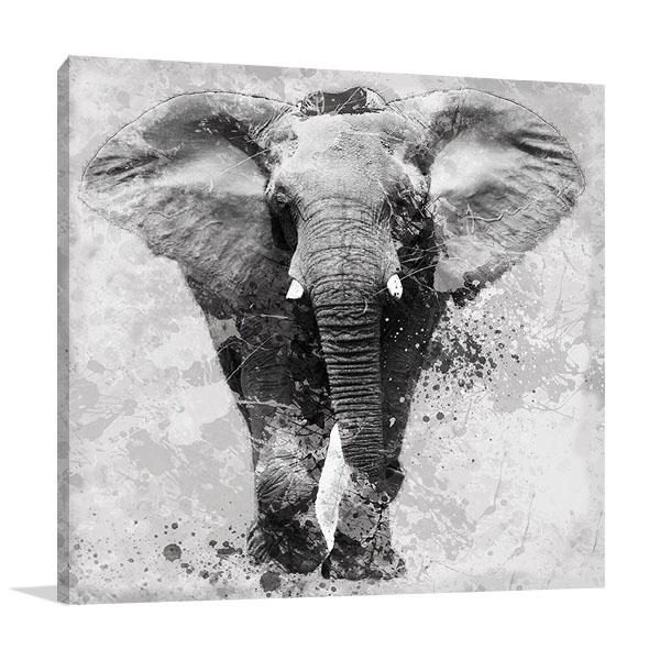 Proud Elephant Canvas Print | Carol Robinson