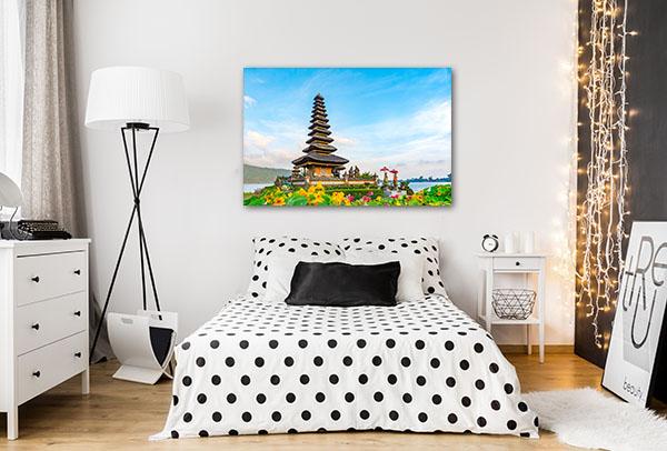 Pura Ulun Temple Canvas Art Prints
