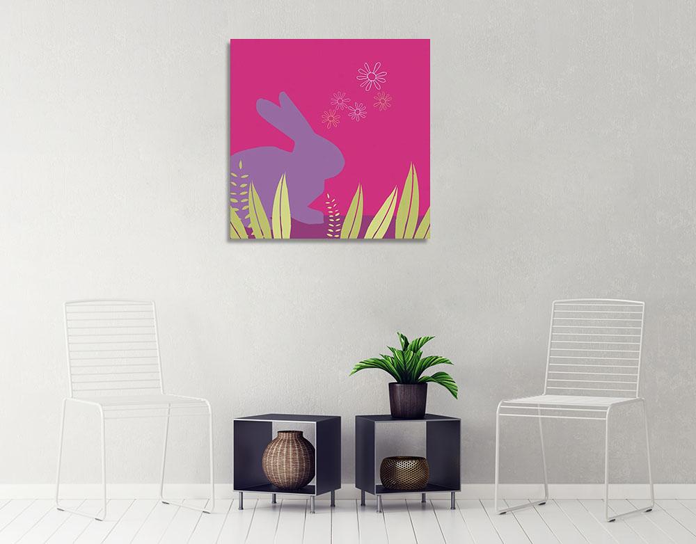 Pretty Pink Kids Wall Art