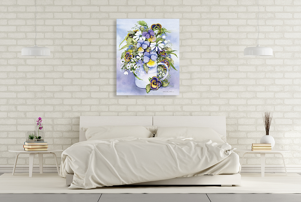 Still Life Floral Canvas Art Print