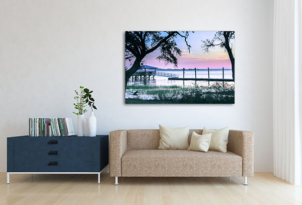 Purple Sunset Wall Art