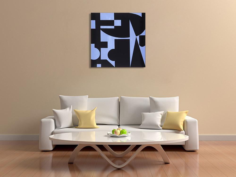 Contemporary Shapes Canvas Print