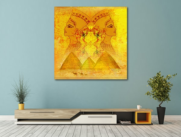 Queen Of Egypt Canvas Prints