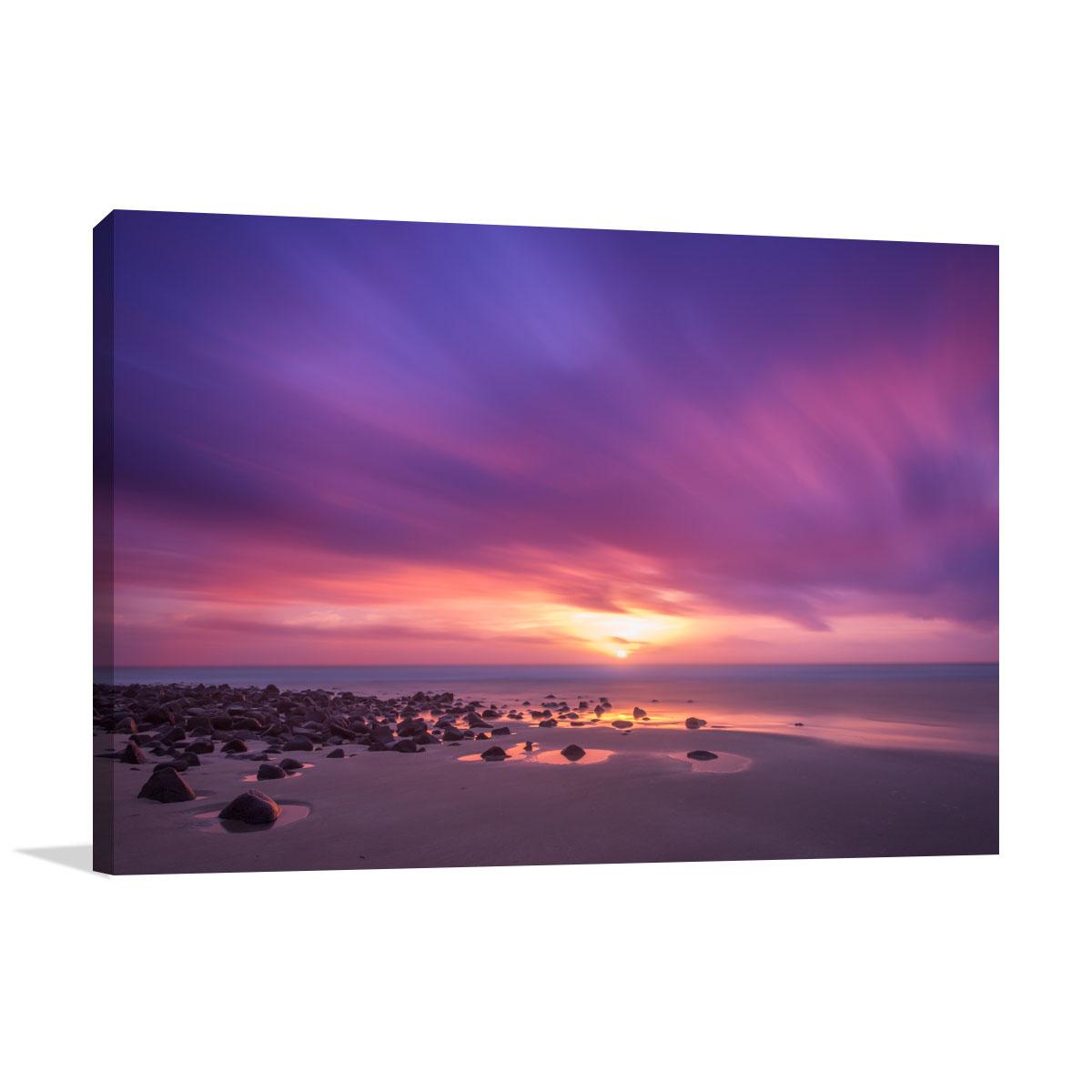 Queensland Art Print Elliott Heads Beach