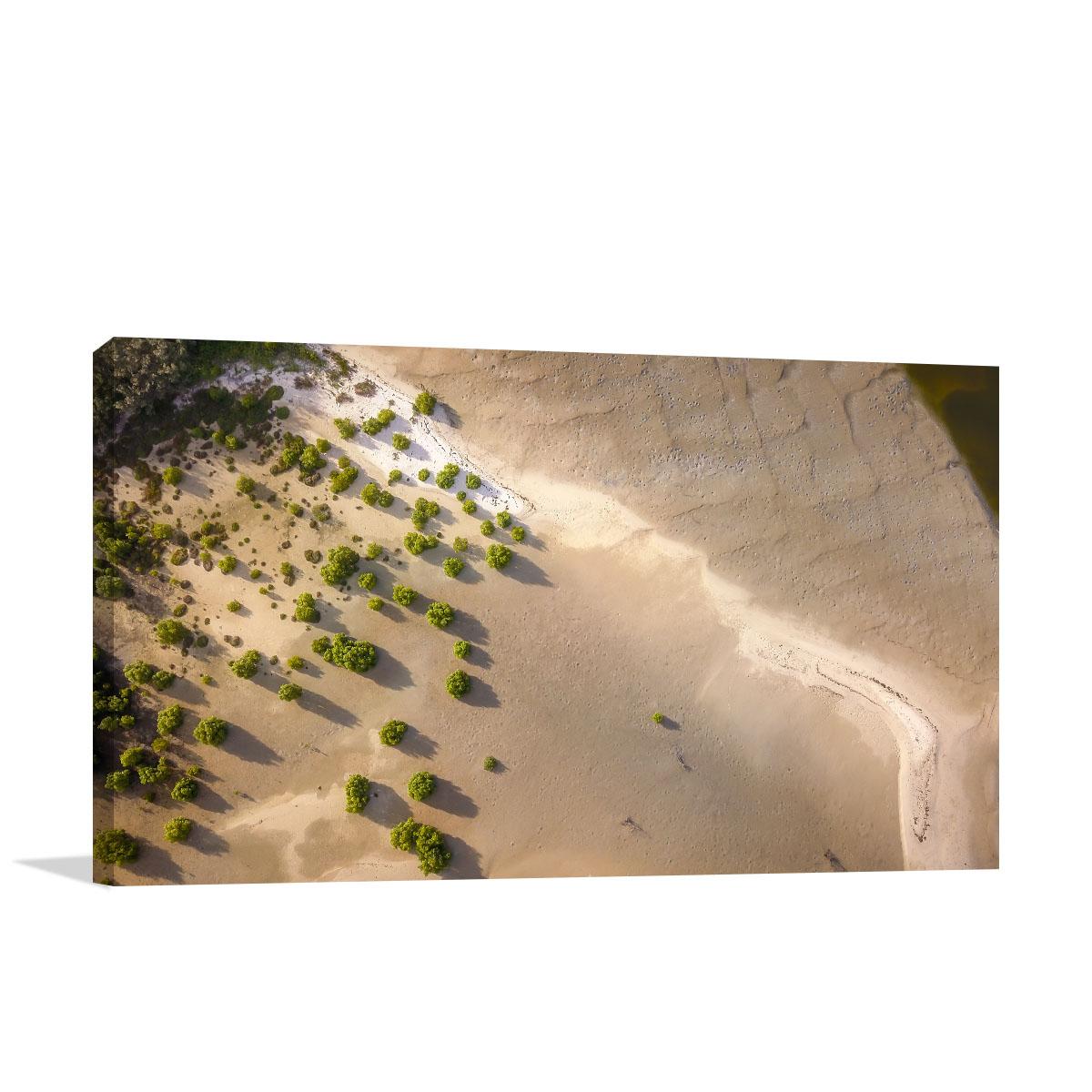 Queensland Art Print Low Tide Bribie Island