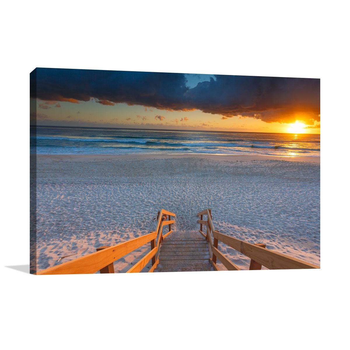 Queensland Art Print Mermaid Beach