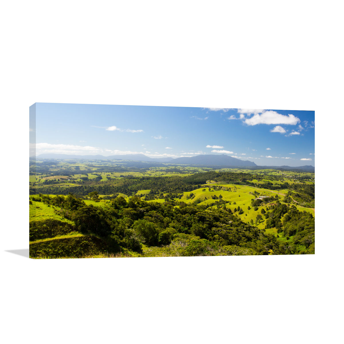 Queensland Art Print Millaa Millaa Over View