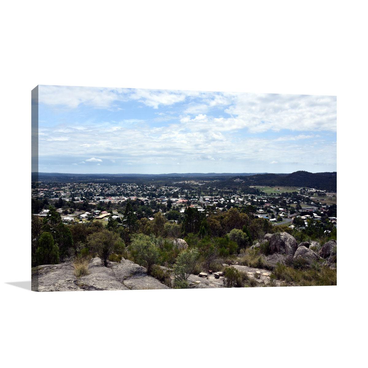 Queensland Art Print Mount Marlay Lookout