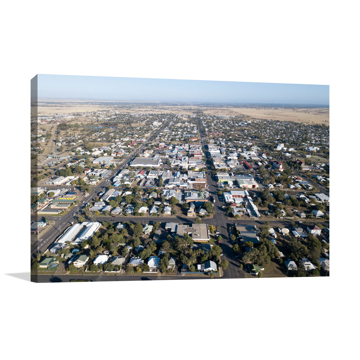 Queensland Art Print Roma Town