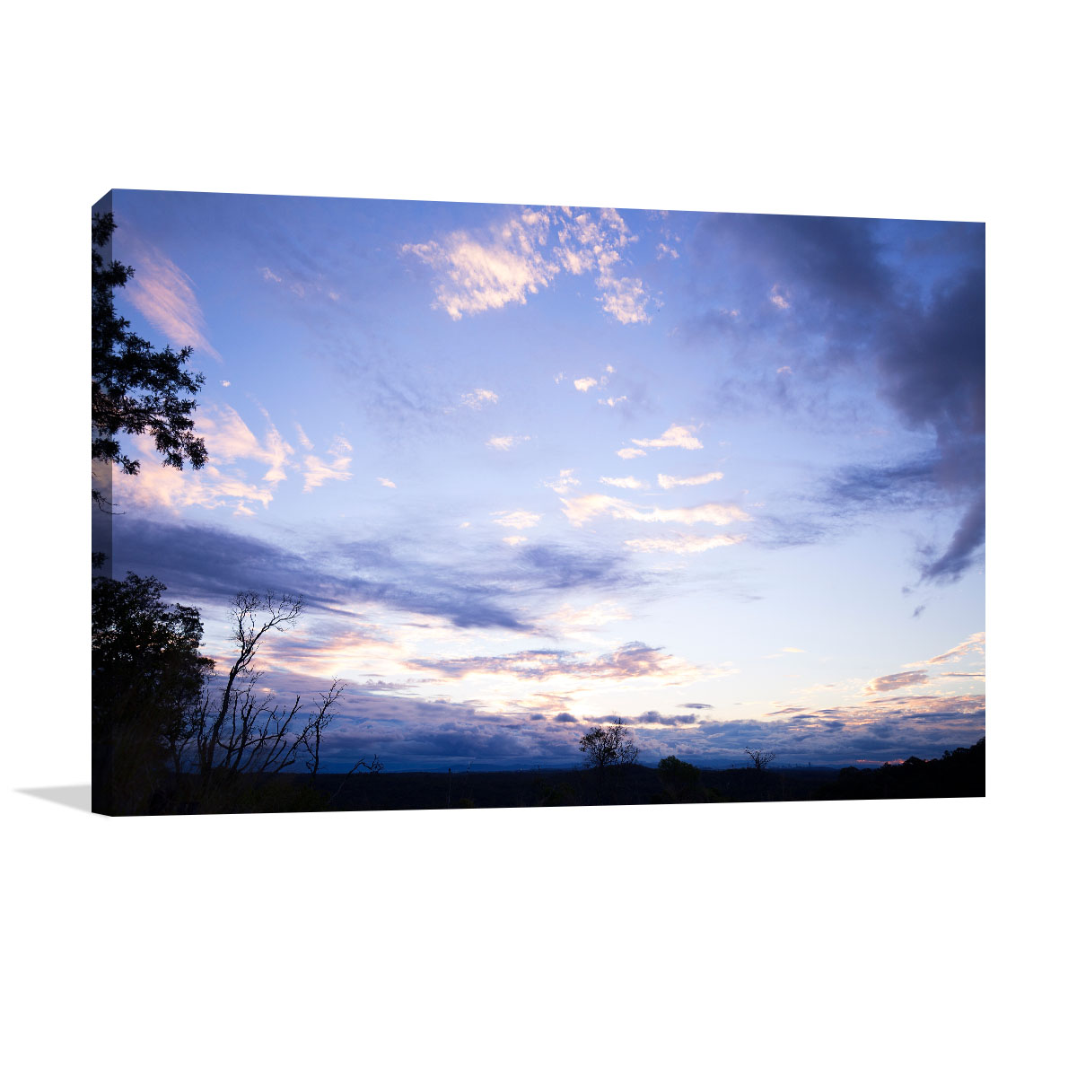 Queensland Art Print Sunset Clouds