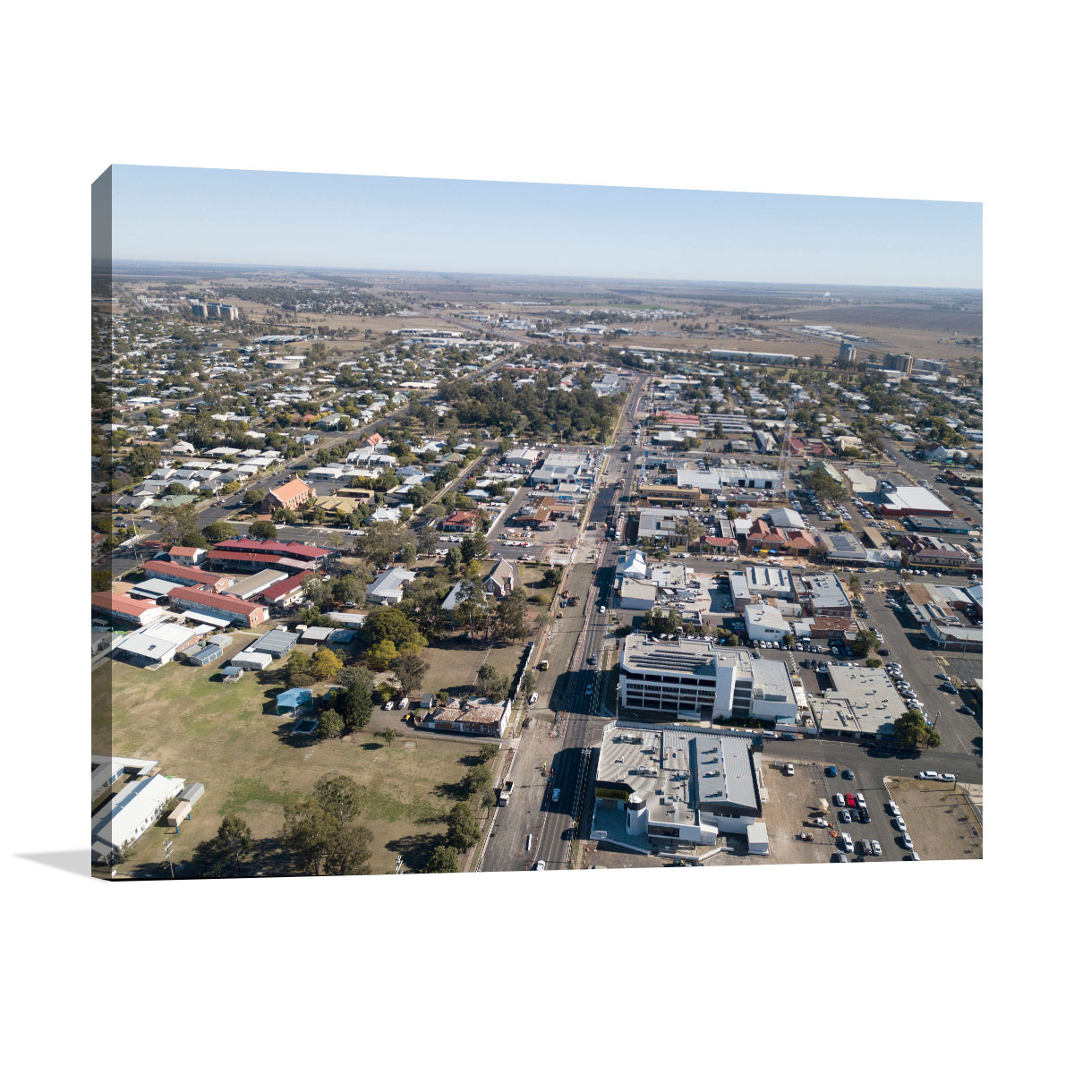 Queensland Art Print Town of Dalby