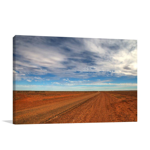 Queensland Canvas Print Birdsville Outback Photo Artwork