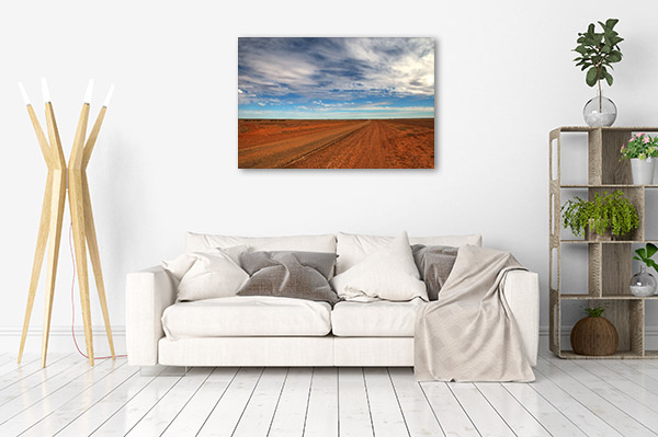 Queensland Canvas Print Birdsville Outback Photo Wall