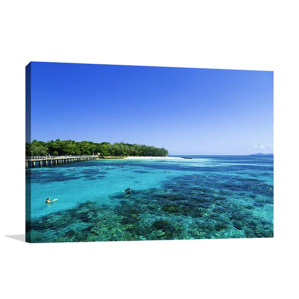 Queensland Great Barrier Reef Print