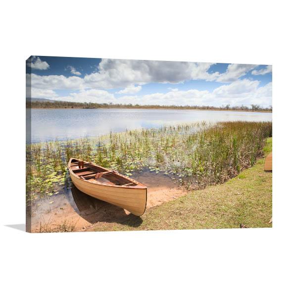 Queensland Wall Art Print Mareeba Wetlands Photo Canvas