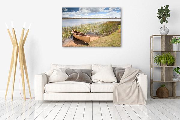 Queensland Wall Art Print Mareeba Wetlands Picture Artwork