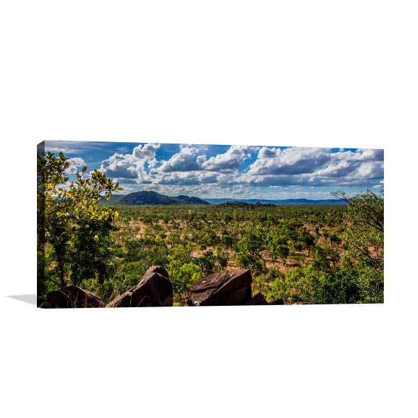 Queensland Wall Print Chillagoe Bushland Artwork Canvas