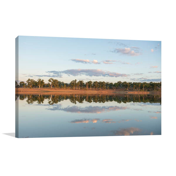 Queensland Wall Print Clermont Dam Photo Art