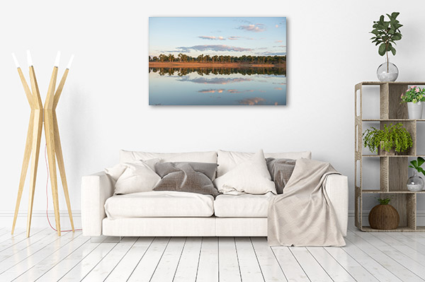 Queensland Wall Print Clermont Dam Art Photo