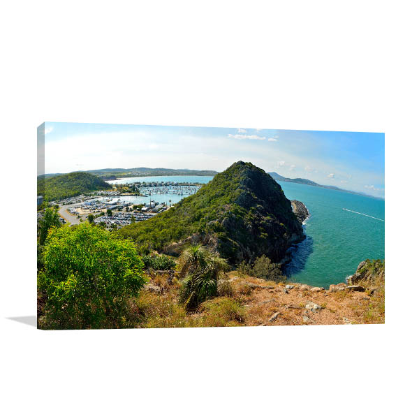 Queensland Wall Print Double Heads Photo Canvas