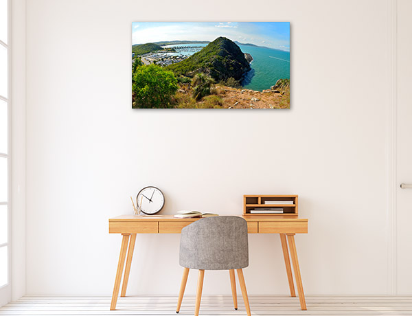 Queensland Wall Print Double Heads Art Picture