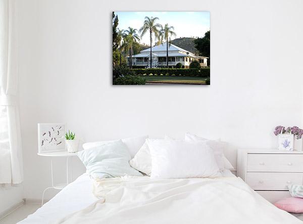 Queensland Wall Print Gayndah White House Photo Canvas