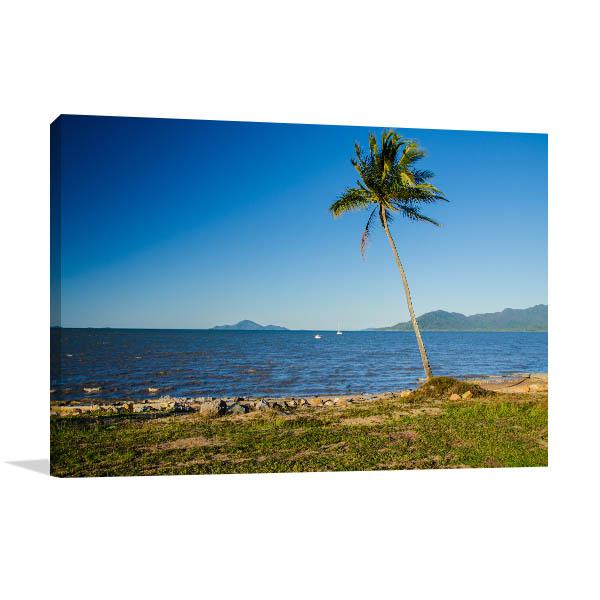 Queensland Wall Print Palm Coast Cardwell Art Photo