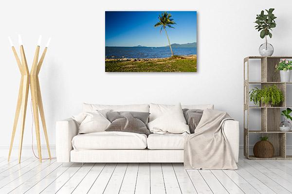 Queensland Wall Print Palm Coast Cardwell Photo Canvas