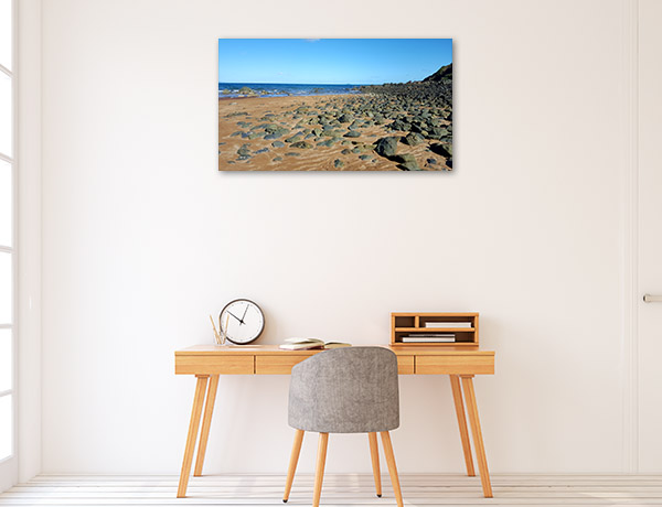 Queensland Wall Print Sarina Beach Canvas Photo