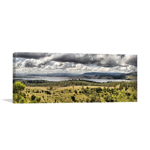 Queensland Wall Print Somerset Dam Picture Art