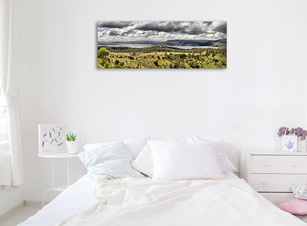Queensland Wall Print Somerset Dam Picture Artwork