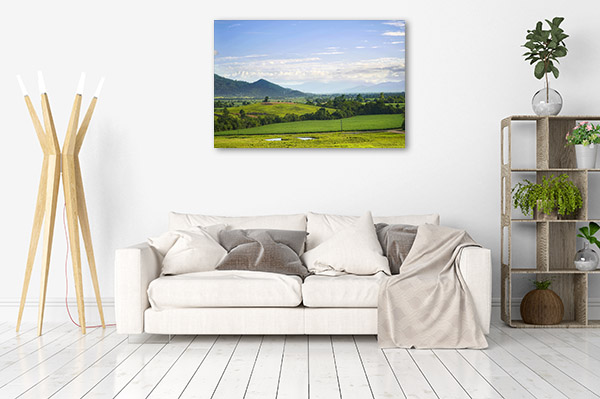 Queensland Wall Print Tully Fields Art Picture