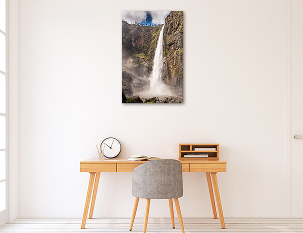 Queensland Wall Print Wallaman Falls Picture Canvas