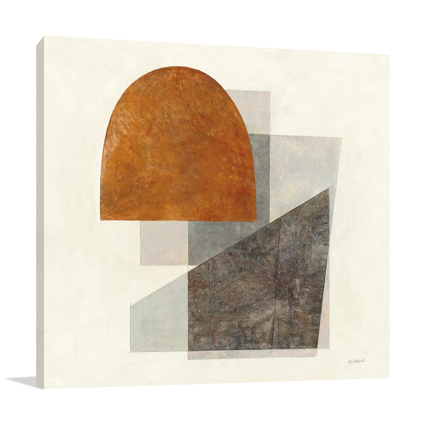 Quintet I Wall Art Print on Canvas