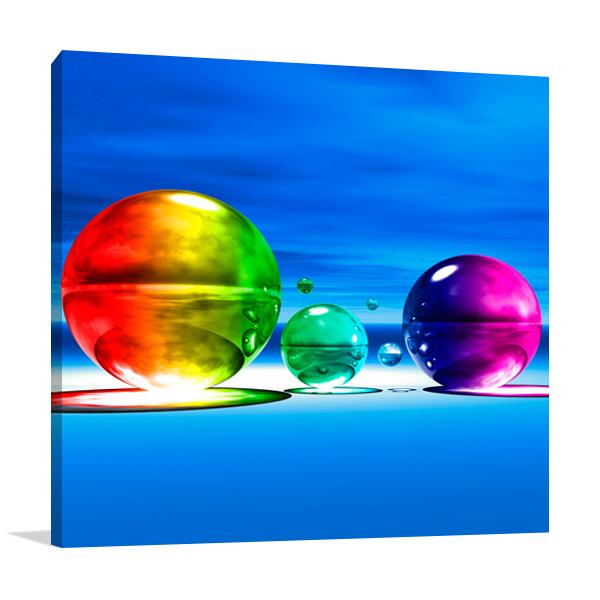 Rainbowl I Wall Art Print