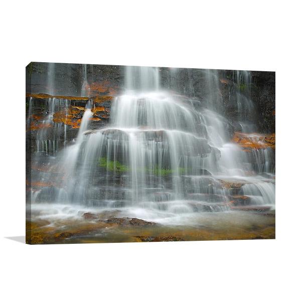 Rainforest Waterfall Canvas Print