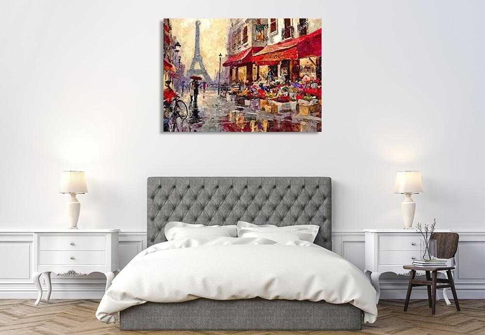 France Eiffel Tower Art Print