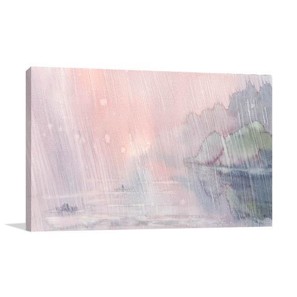 Rainy Morning Art Prints