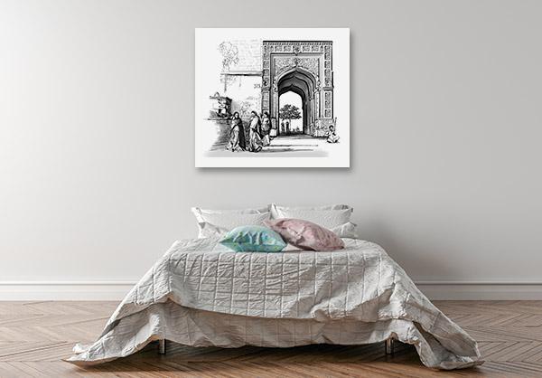 Rajasthan Print Artwork