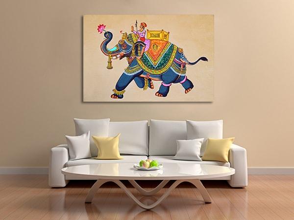 Rajasthani Print Artwork