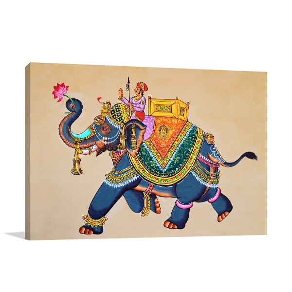 Rajasthani Canvas Art