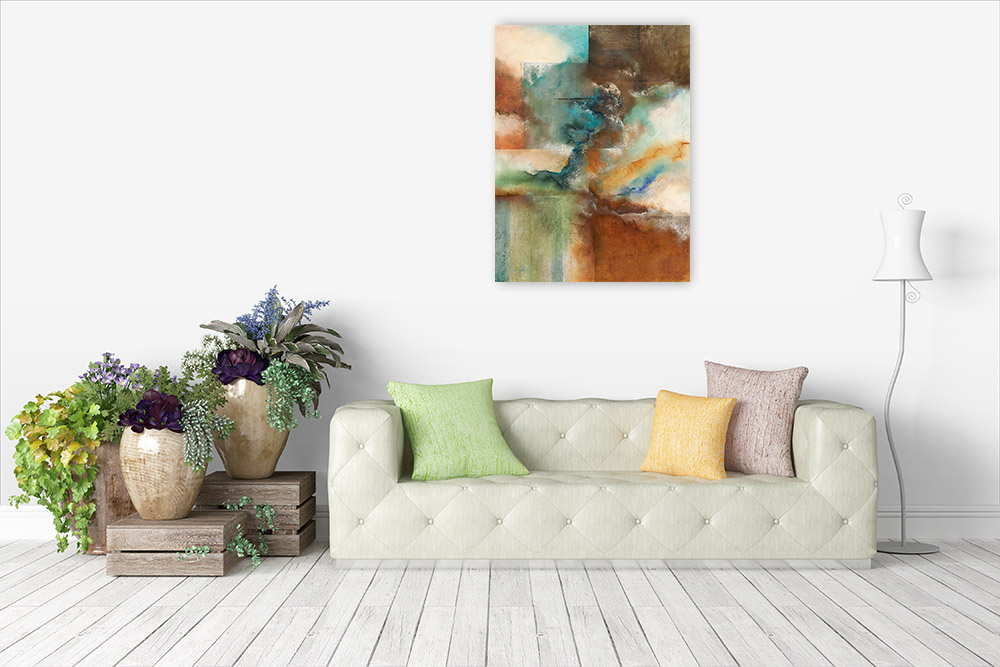 Multi Colors Wall Art Print