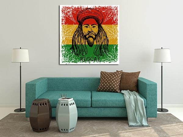 Rasta Man Art Prints