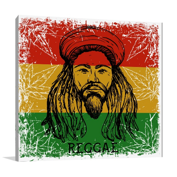 Rasta Man Prints Canvas