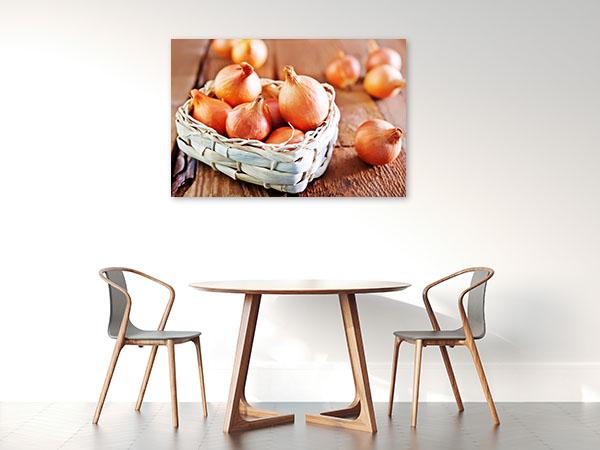 Raw Onions Canvas Prints